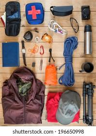 travel equipment set