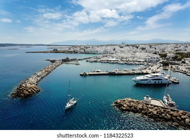 Travel Greece: Picturesque Naousa village, Paros island, Cyclades, Greece