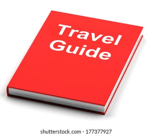 Travel Guide Book Showing Information About Travels