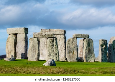 Travel  - Iceland + London Trip 2018, Visit to Stonehenge, taken on 14/11/2018 at Stonehenge, Amesbury, Salisbury SP4 7DE, UK, (Photo by : Teo Wei Keong)