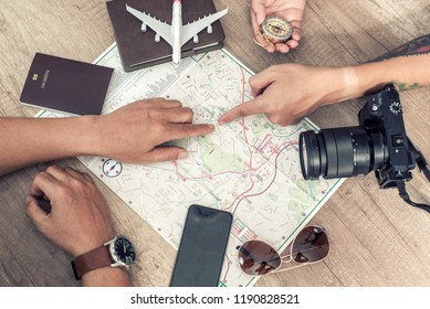 Travel ideas with maps