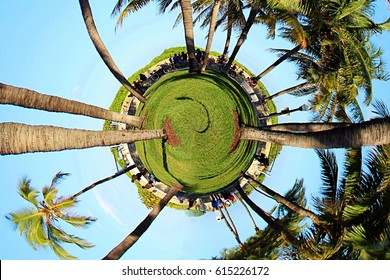 Travel to Miami, Florida Tiny Planet and Small World