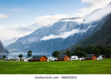 travel to Norway on a trailer, camping, home on wheels