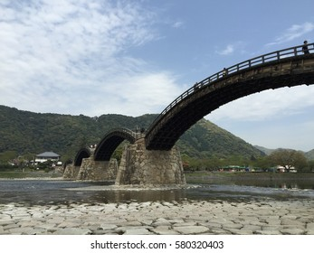 Travel on japan kintai-kyo Bridge