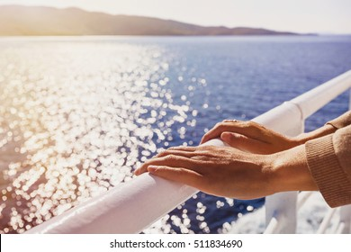 Travel on the sailing boat, travel and active lifestyle concept