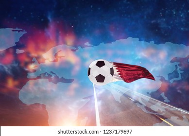 travel on a worlds cup football
