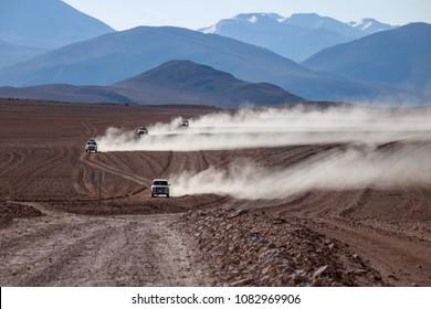 Travel in Sud Lipez desert, Bolivia.