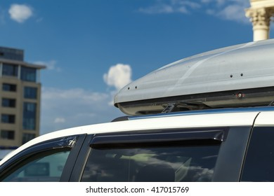 travel  suitcases  roof  car
