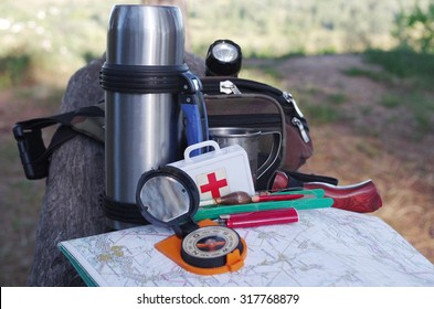 Travel and survival kit.
