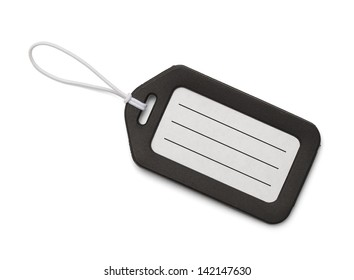 Travel Tag with Copy Space Isolated On White Background.