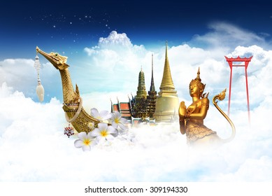 travel thailand concept