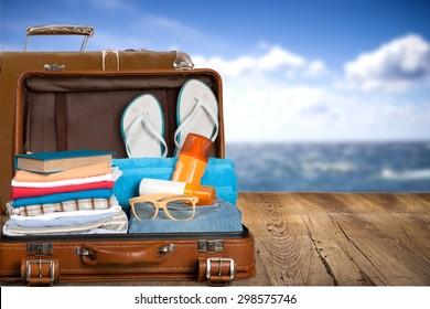 Travel, traveler, pack.