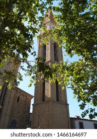 Travel view of Arezzo featuring Arezzo dome tower campanile. The image location is Tuscany in Italy, Europe.