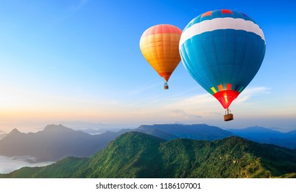 Travel the world in hot balloon