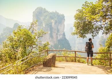 Traveler in china