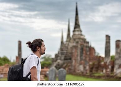 Traveler in Thailand