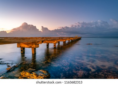 Traveling along the Overseas Highway in the Florida Keys