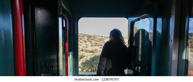 Traveling in the Chepe Train in Mexico