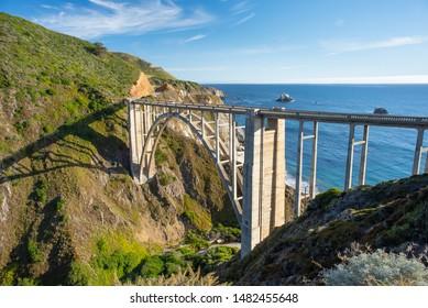 Traveling Highway 1 In California
