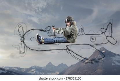 traveling kid
