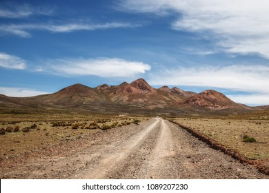 Traveling off-road in the high-altitude desert of Bolivia