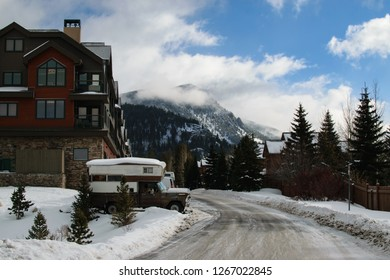 Traveling RV and Townhomes in a Mountain Ski Resort