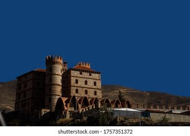 Traveling through Venezuela, Castillo de San Ignacio located in the Merideños páramos