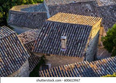 Traveling in the village of Menerbes Luberon Provence France Europe