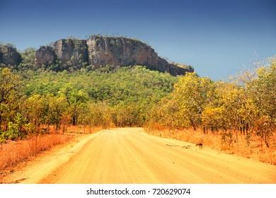 travelling Kakadu National Park, Northern Territory, Australia