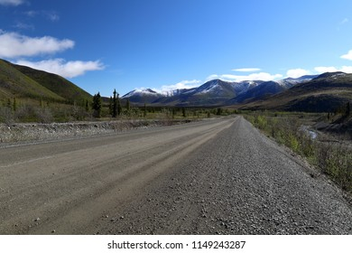 Travelling on the Dempster Highway, Canada