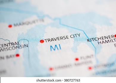 Traverse City. Michigan. USA