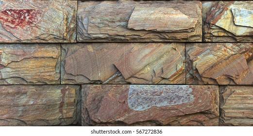 travertine stone texture Termolit wall tiles, slate