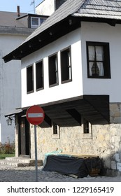 Travnik Bosna i Hercegovina October 13th 2018 Birth house of Nobel winner poem writer Ivo Andric