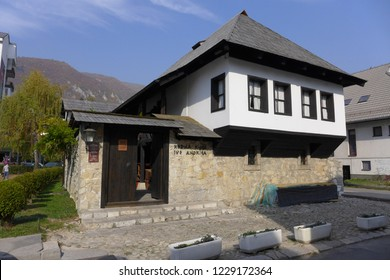 Travnik Bosna i Hercegovina October 13th 2018 Birth house nobel winner poem writer Ivo Andric