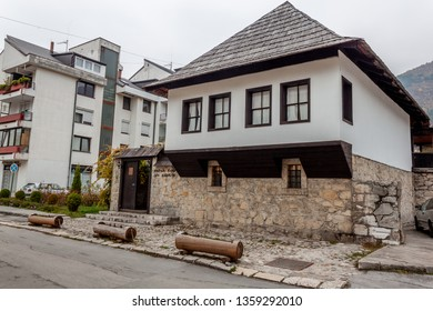 Travnik, Bosnia and Herzegovina, nov. 11.2011.: Birth house of Ivo Andric, nobel prize winner for Literature