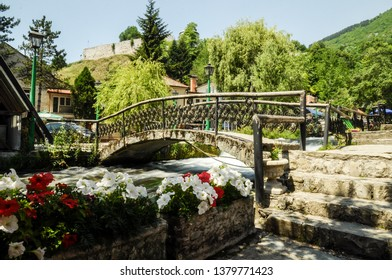 TRAVNIK , BOSNIA AND HERZEGOWINA - July 13,2015 : Parts of Ottoman architecture still exist in Bosnia and Herzegovina in city Travnik