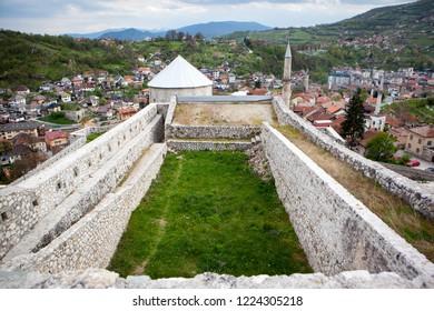 Travnik Fortress in Bosnia and Herzegovina