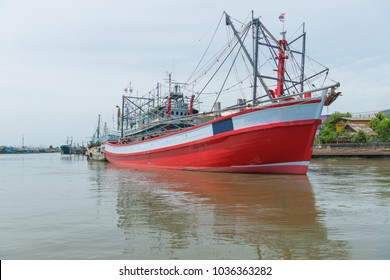 Trawler fishing boat is a career that has been popular in the seaside city