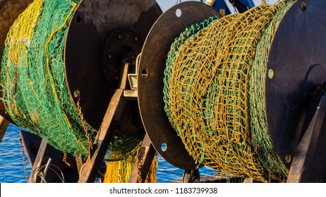 Trawler Fishing Nets at the ready