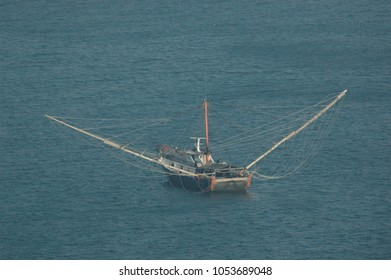 Trawler in Hong Kong waters