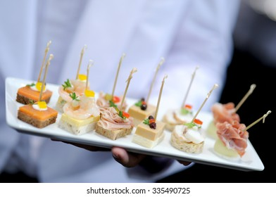 tray of appetizers