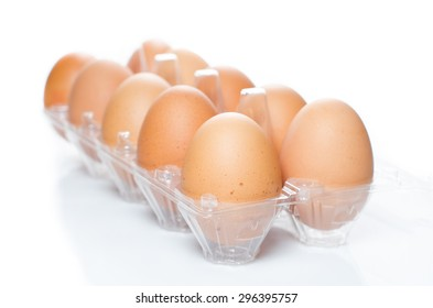 A Tray of Eggs plastic package
