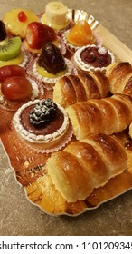 tray of mixed pastries