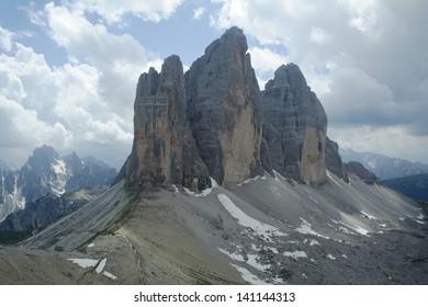 Tre Cime di Lavaredo, Dolomiti, Italy
