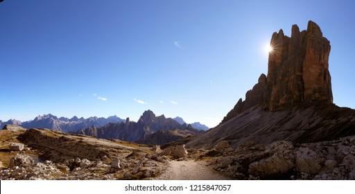 """'Tre Cime di Lavaredo' or """" Drei Zinnen """" - Dolomites - Italy"""