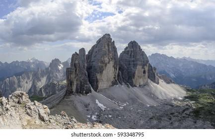 Tre Cime di Lavaredo (Drei Zinnen), Italy
