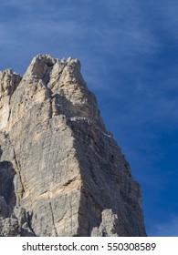 Tre Cime di Lavaredo Mountain ( Italy )