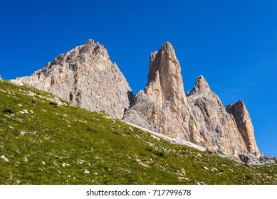 Tre Cime di Lavaredo from the South