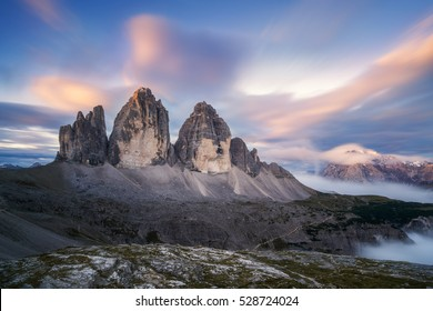 Tre Cime or three peaks mountains, It is the symbolic of Dolomites in south Tyrol of Italy. It is one of the best place in Europe for people who love nature.