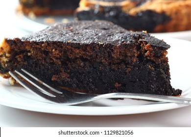 Treacle Pie with Molasses Filling